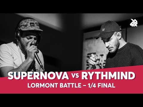 SUPERNOVA vs RYTHMIND | Lormont Loopstation Beatbox Battle | 1/4 Final