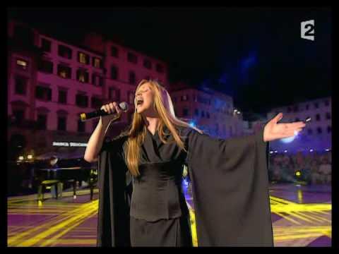 Lara Fabian a Firenze canta