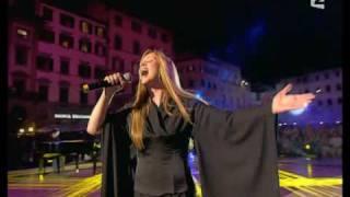 Lara Fabian A Firenze Canta Adagio In Un Concerto Francese Dedicato Alle Canzone Italiane