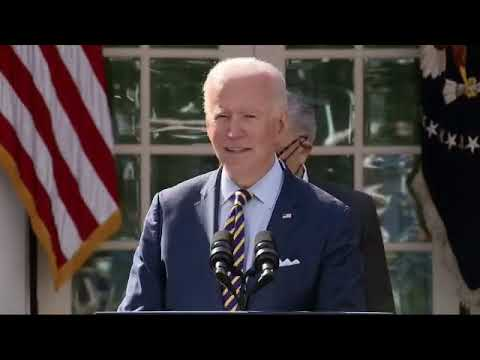 Remarks:  From POS Communist Puppet Joe Biden Discusses the American Rescue Plan in the Rose Garden