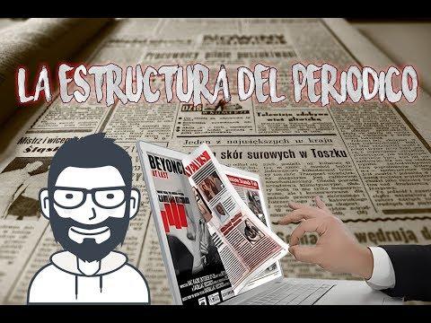 Estructura de un Periódico  Partes del Periódico 