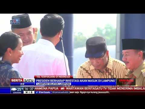 Jokowi: Lampung-Aceh akan Tersambung Tol Tahun 2024