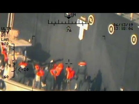 France 24:US military releases new images from oil tanker attacks