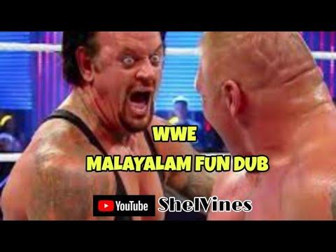 WWE Malayalam Fun Dub | ShelVines | What If WWE Stars Speaks Malayalam