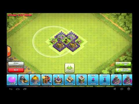 Amazing TH3 Farming Base Layout - Clash of Clans