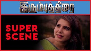 Irumbu Thirai - Super Scene 3   Vishal   Arjun Sarja   Samantha Akkineni