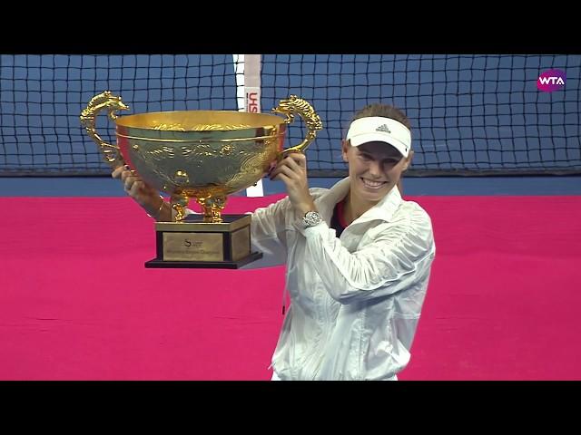 Caroline Wozniacki   2018 China Open Final Press Conference