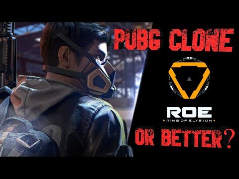 PUBG CLONE OR BETTER THAN THE ORIGINAL - Ring OF Elysium