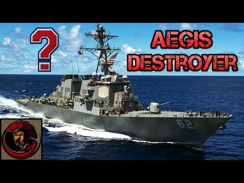 DDG-51 Arleigh Burke Class Destroyer AEGIS - Overview