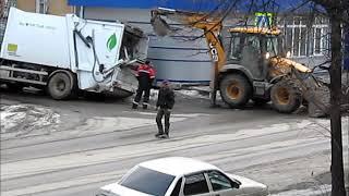 Мусоровоз задержался в городе Куса