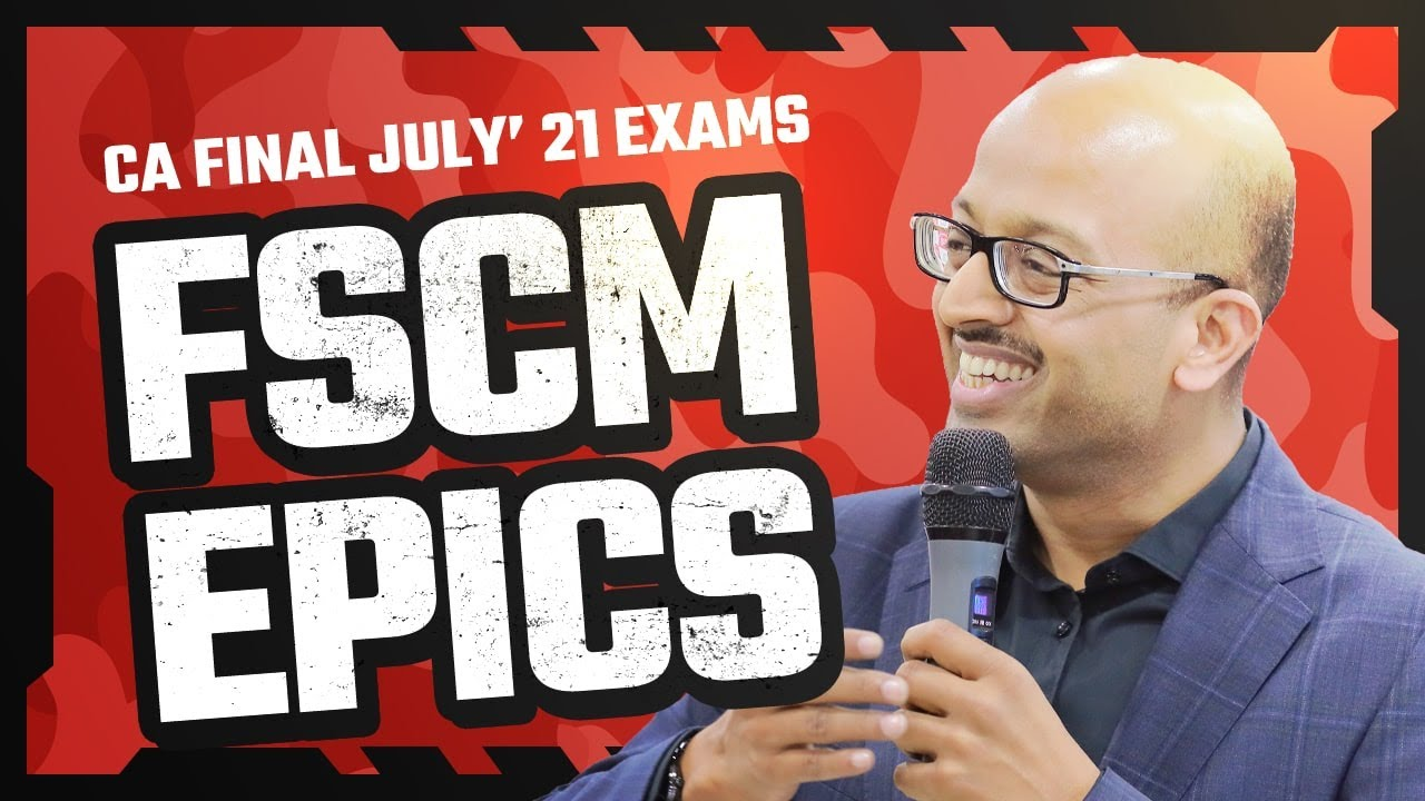 CA Final FSCM | July'21 Top Scorers | In discussion with Sanjay Saraf Sir