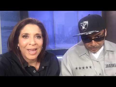 Fox 11 Tray Deee interview with Christine Devine