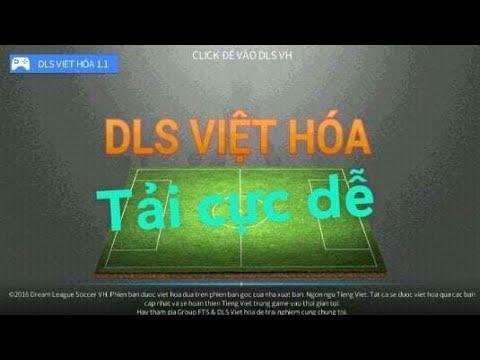 cách hack dream league soccer 2016 android - Cách  tải Dream league soccer 2016 bản việt hóa cực kì dễ dàng- Khắc Tiệp Tv