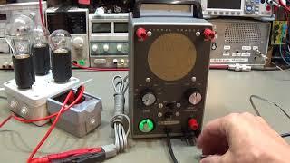 #153 Heathkit IT-12 Signal Tracer repair and restoration