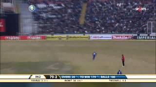 India - England 4th ODI - R Sharma Scores 83