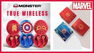 Tai nghe True Wireless Monster Marvel | Tai nghe dành cho fan cứng nhà Marvel