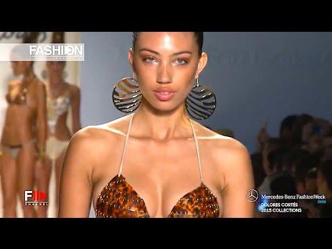 """""""DOLORES CORTES""""  Miami Fashion Week Swimwear Spring Summer 2015 HD by Fashion Channel"""