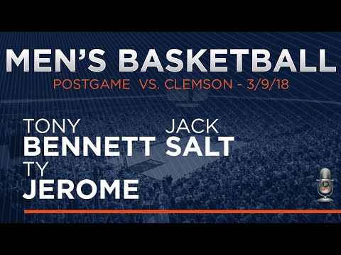 MEN'S BASKETBALL: ACC Semifinals - Clemson Post Game
