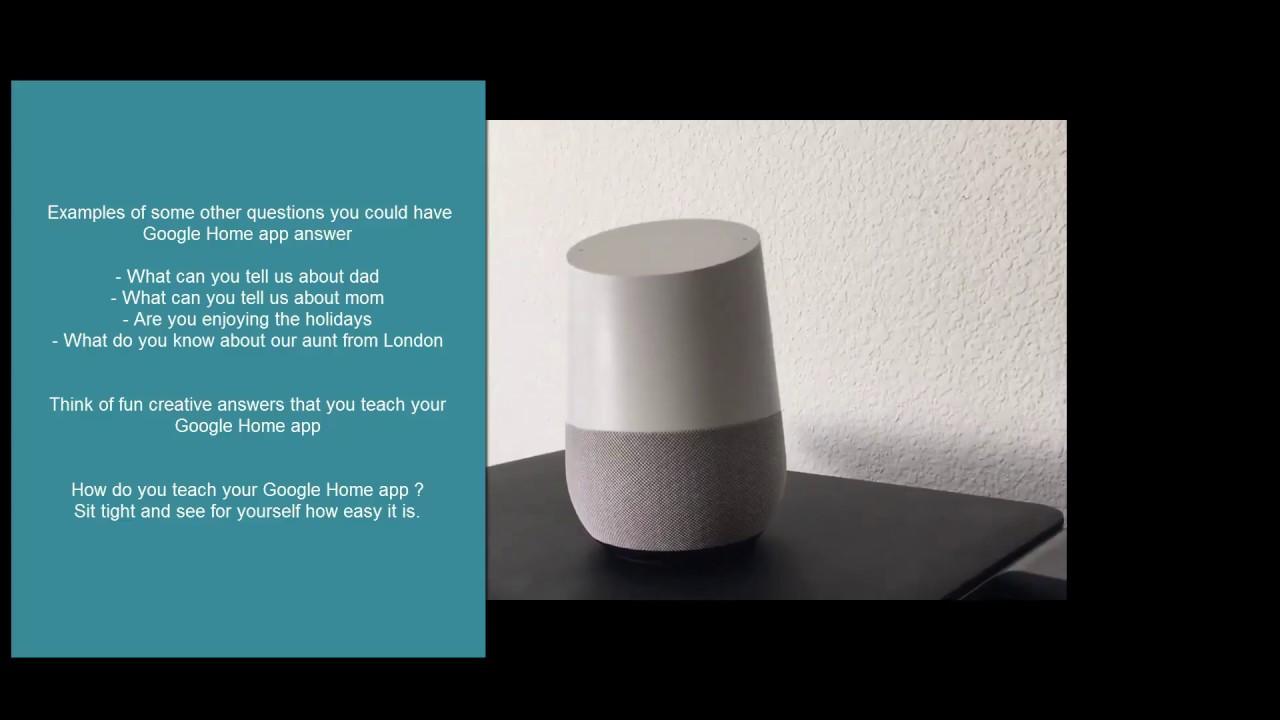 Dialogflow Tutorial - Smart Speaker (Google Home) app development for newbies