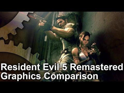 Face-Off: Resident Evil 5 Remastered • Eurogamer net