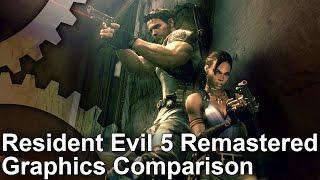 Resident Evil 5 PS4/Xbox One vs PC/Xbox 360 Graphics Comparison