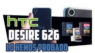 HTC Desire 626, prueba en español