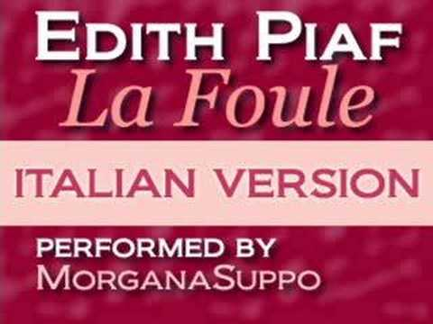 Me singing: Italian Version: La Foule - Edith Piaf