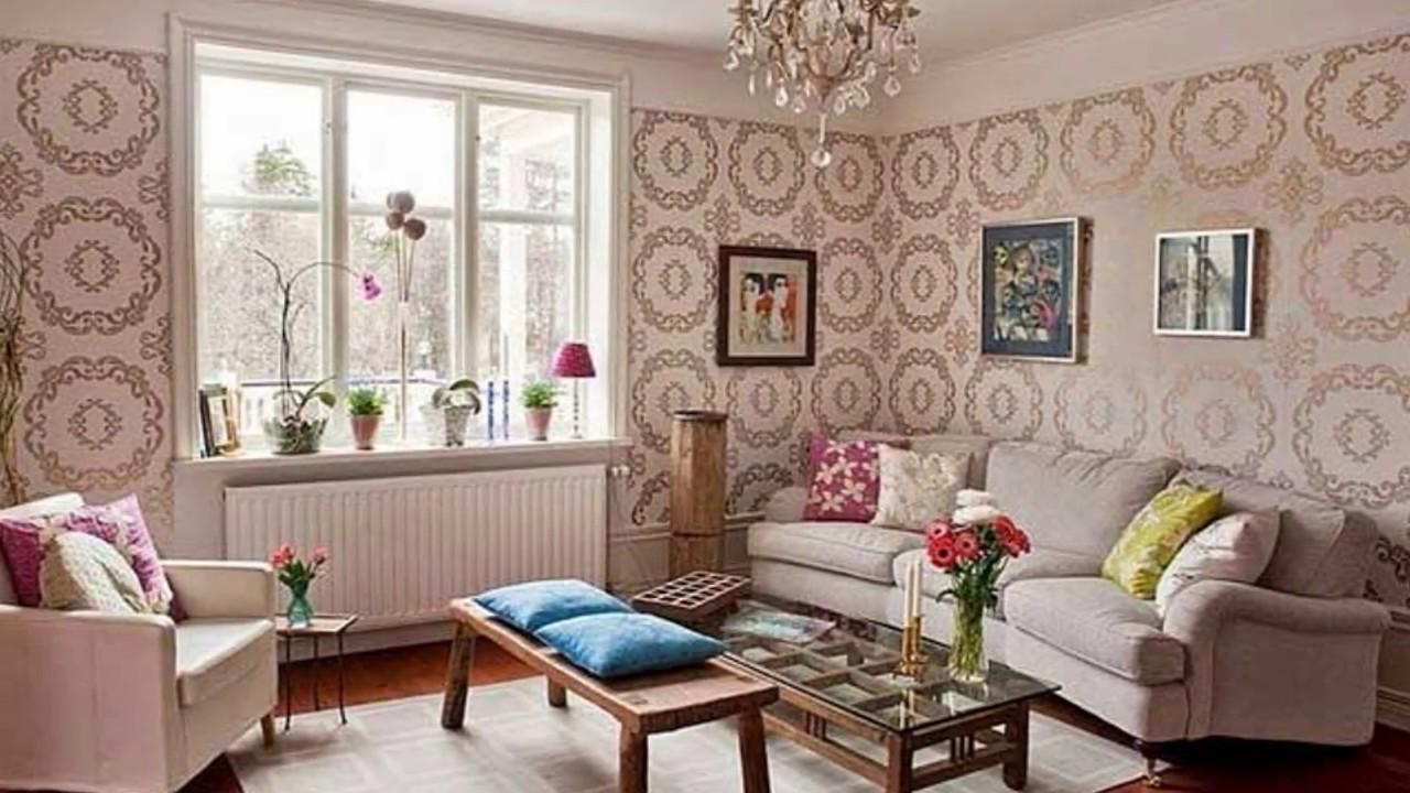 20+ tapeten design ideen wohnzimmer - YouTube