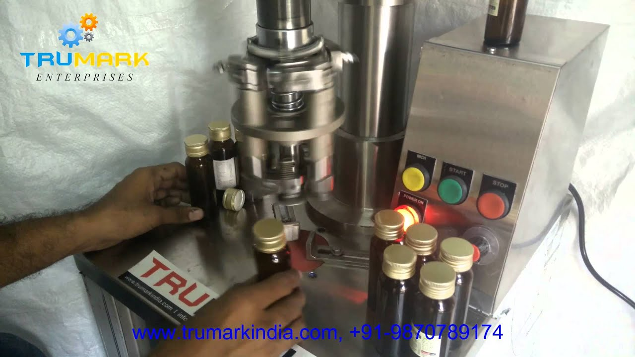 Semi Automatic Bottle Capping Machine Cap Sealing Machine