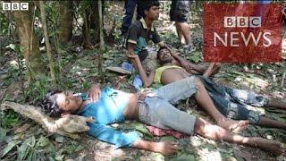 【BBC】 タイにはびこる人身売買ビジネス 監禁と拷問と集団埋葬 thumbnail