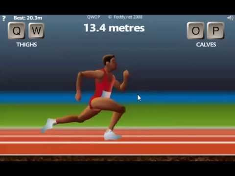 QWOP: How to Run Like a Pro