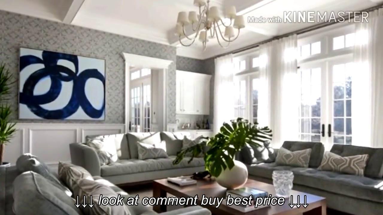 Gray living room design ideas - YouTube