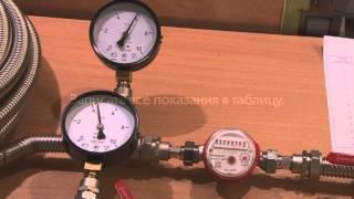 Гидравлическое испытание нержавеющей гофрированной трубы(Компанией