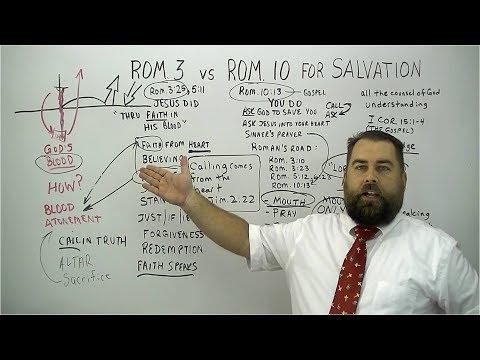 Romans 3 vs Romans 10 for Salvation