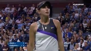 белинда Бенчич  Бьянка Андрееску. US Open-2019. Обзор матча