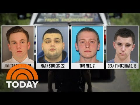 Remains Found In Search For 4 Missing Men; 'Person Of Interest' Arrested | TODAY