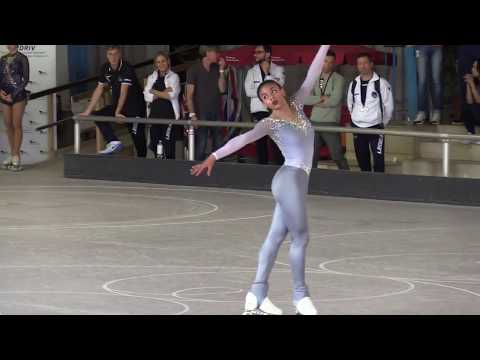 Gold Medal Winner YENE CORINNA SORO Long Program - Artistic Roller Skating German Cup 2018