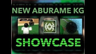 [NEW GLITCH] HOW TO GET THE NEW ABURAME KG!   SHOWCASING THE NEW AMURAME KG!  ROBLOX NRPG- Beyond