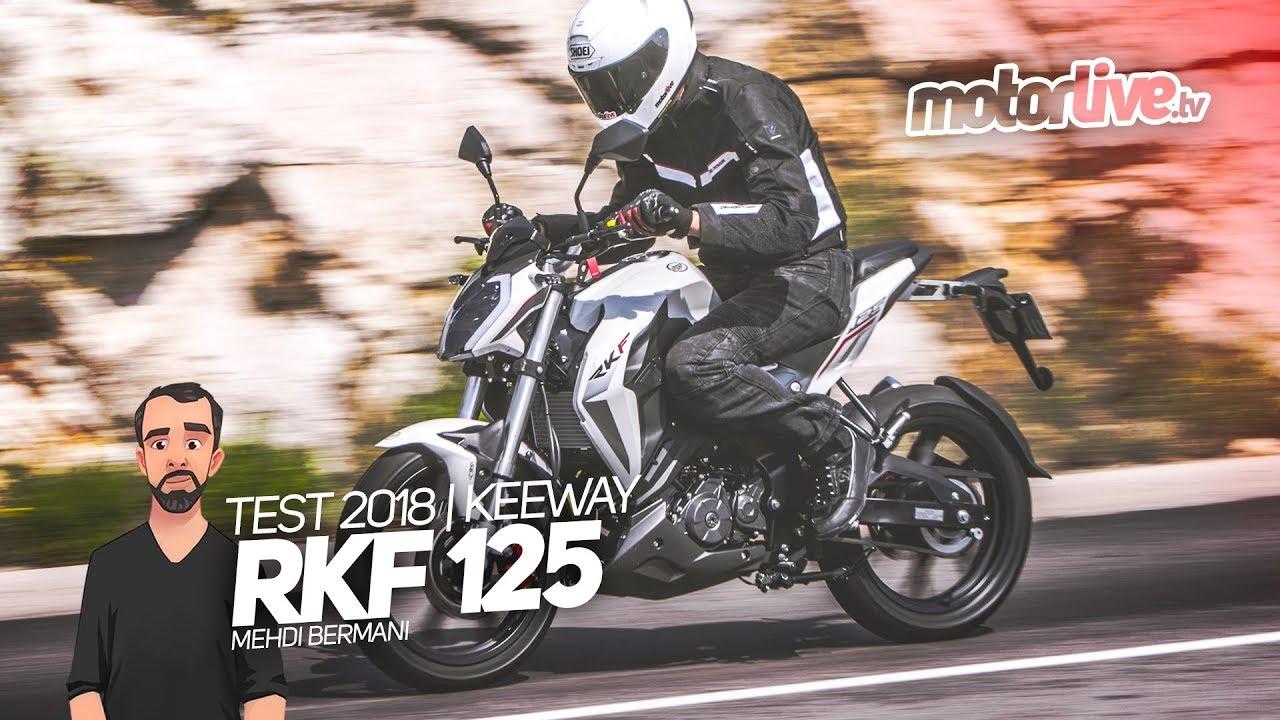 keeway rkf 125 sub test 2018 youtube. Black Bedroom Furniture Sets. Home Design Ideas