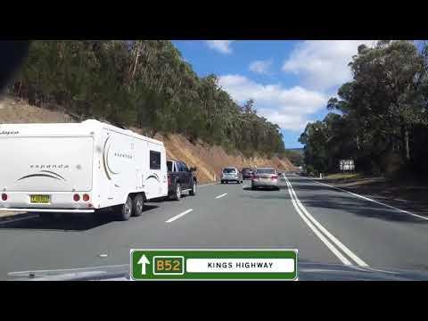 Tomakin (Batemans Bay), NSW to Tidbinbilla (Canberra), ACT via B52 Kings Hwy