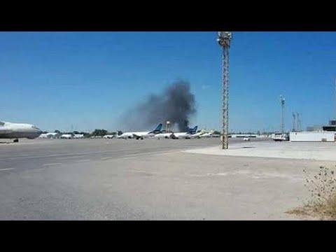 Libye : l'aéroport Mitiga fermé à cause des combats