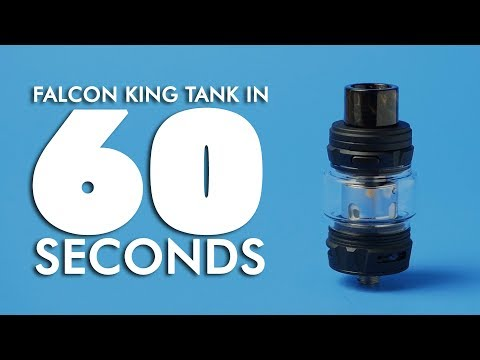 Horizon Falcon King Sub-Ohm Tank Review | in 60 Seconds