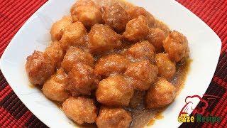 চিকেন মিটবল কারি   Chicken Meatball Curry   বাংলাদেশি চায়নীজ/ফাস্টফুড স্টাইল চিকেন মিটবল কারি