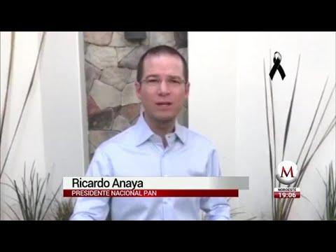 Ricardo Anaya difunde video afirmando que conflictos del PAN son estrategia del PRI