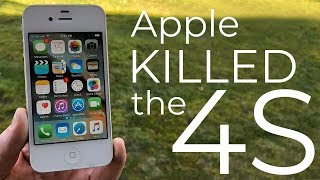 How Apple killed the iPhone 4S
