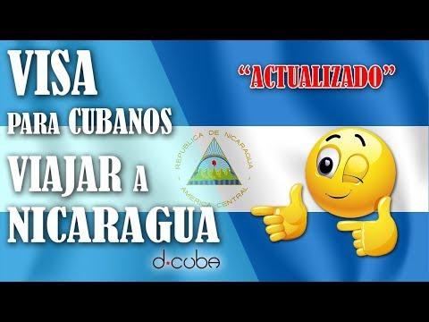 💥Visa para Viajar a NICARAGUA desde CUBA 2019 ► Sacar CITA