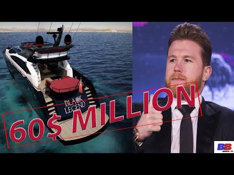 (WOW) CANELO ALVAREZ SHOWS OFF BRAND NEW 60$ MILLION DOLLAR YACHT !!