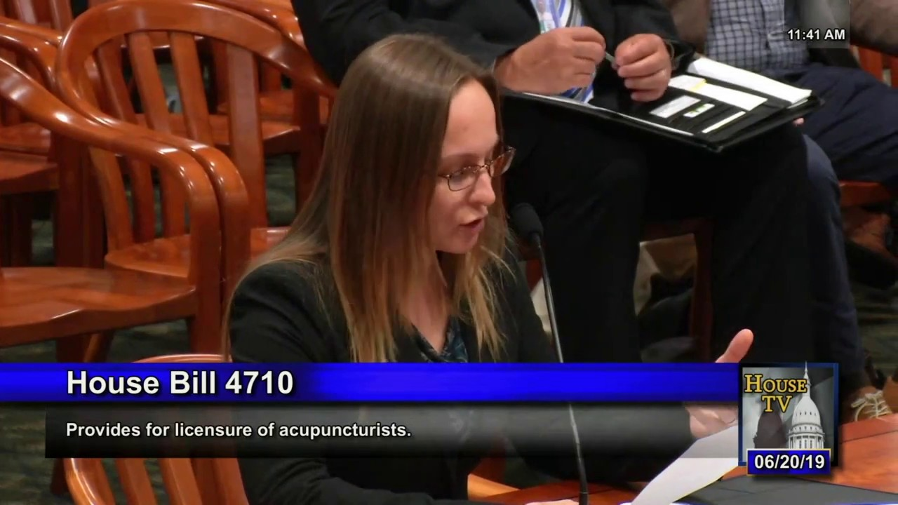 HB 4710: Licensing and expanding the scope of practice of