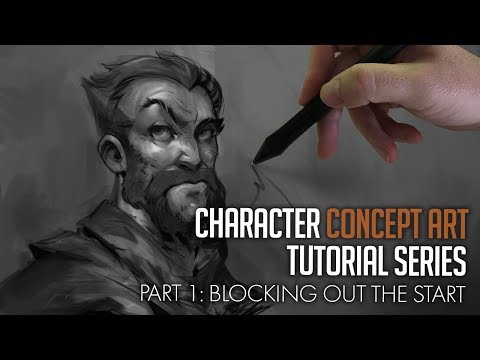 Character Concept Art Tutorial – New Series!