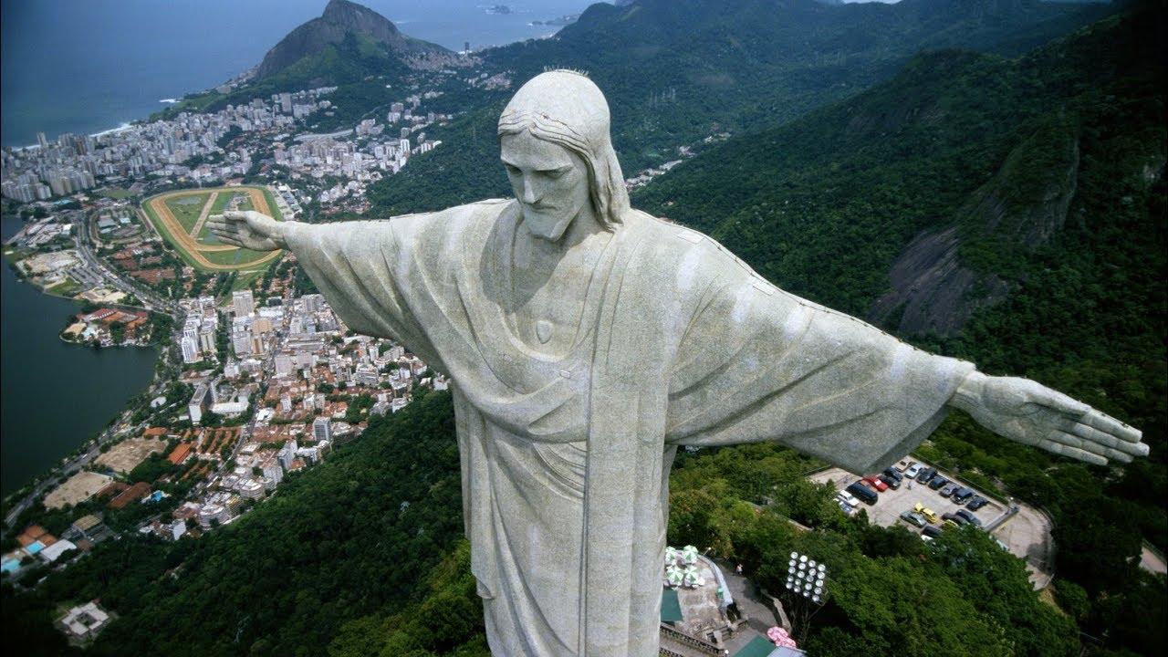 Christ The Redeemer : New seven wonders of the world christ redeemer
